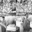 Wedding photos on KU Campus
