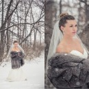 Kansa City Snowy Bridal Session