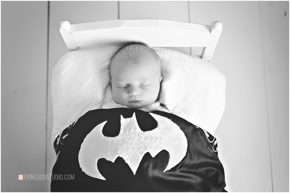 Batman Newborn Photos
