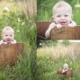 outdoor 6 month baby photos